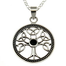 """Sterling Silver Tree of Life Pendant with 18"""" Chain & Box"""