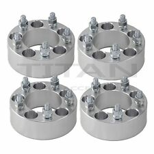 "(4) 2.0"" 5x4.5 to 5 x 4.5 Wheel Spacers Adapters 