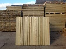 FEATHER EDGE FENCE PANELS,VERTICAL BOARD, CLOSE BOARD, PRESSURE TREATED