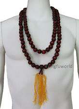Shaolin Monk Necklace Prayer Beads for Kung fu Suit Tai chi Wing Chun Uniform