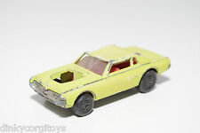LESNEY MATCHBOX SUPERFAST 82 MERCURY COUGAR GOOD CONDITION