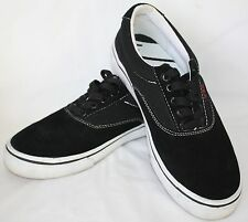 Vox Skateboarding Shoes Mens size 6.5 ~ Womens size 8 Black Suede EUC