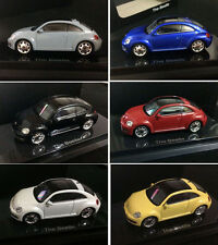 NEW Kyosho VW VolksWagen 2014 beetle 1:64 DieCast Model 6 units