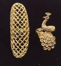 Wholesale  Lot of 2 Gold  fashion rings