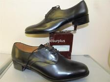NEW Womens British fad Army Black Leather Lace Shoes WRAC No2 Fad Uniform size 2
