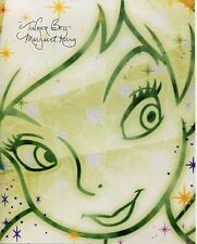 Margaret Kerry Signed Disney Tinkerbell Pixie Power Color 8x10 Photo COA