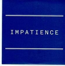 (BY12) Impatience, We Are Scientists - 2008 DJ CD