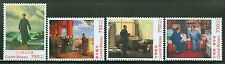 GUINEA BISSAU 2013 STAMP ON STAMP REPRODUCING MAO FAMOUS PAINTINGS SET  MINT NH