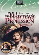 Mrs. Warren's Profession (BRAND NEW REGION 1 DVD)( Coral Browne)