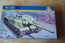 Italeri ISU 122 Tanque. 1/72