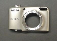 Nikon Coolpix  L29 Front Cover Zoom Button Replacement Repair Part  Silver