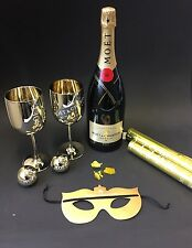 "Moet Chandon ""Party Set"" Champagner 1,5l Magnum Flasche 12% Vol. Konfetti Kanone"