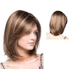 charming wig New sexy Women's short Brown Blonde Mix Natural Hair wigs