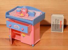 Mini Baby Born Wickelkommode + Wickelutensilien TOP RAR 2