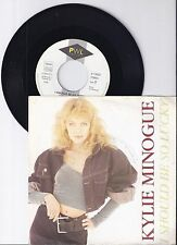 """Kylie Minogue, I should be so lucky, VG/VG+,  7"""" Single 0989-7"""