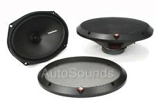 "Rockford Fosgate R169X2 130 Watt 6"" x 9"" 2-Way Coaxial Car Audio Speakers 6""x9"""