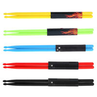 1 Pair 5A Drumsticks Stick Nylon for Drum Lightweight for Drummer Durable
