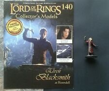 LOTR Collectors Models #140 Elven Blacksmith at Rivendell & Magazine ULTRA RARE