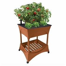 Outdoor Tall Raised Elevated Garden Bed Box Stand Kit Planter Vegetable Plant