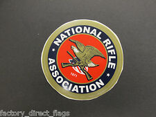 NATIONAL RIFLE ASSOCIATION WINDOW DECAL FOR INSIDE OF WINDOW B2 NEW