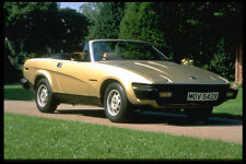 354026 Triumph TR7 Convertible 1981 A4 Photo Print