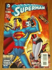 SUPERMAN #39 VARIANT DC COMICS THE NEW 52 NM (9.4)