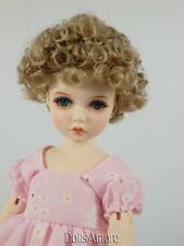 "CURLY BLONDE DOLL WIG SIZE 8/9"" FITS VINTAGE AND MODERN DOLLS"