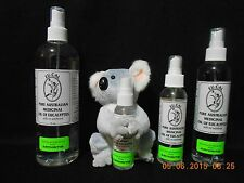 100% PURE MEDICINAL OIL OF EUCALYPTUS  16oz  DOUBLE DISTILLED  STOP PAIN NOW