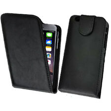 Vertical Flip Leather Cover Pouch Case For iPhone 4 4G 4S 5 5G 5S 6 6G Plus UK