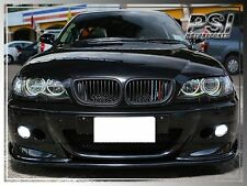 HM Style Carbon Fiber Front Bumper Lip for M3 Only BMW 2001-2006 E46 M3 2Dr