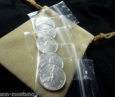 (5) 2013 MEXICAN SILVER LIBERTAD COINS 1/20 OZ Each .999 BU Bullion HARD TO FIND