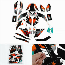 Full Custom Decals Graphics Stickers Vinyl Set For KTM DUKE 125 200 390