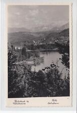 AK Pörtschach am Wörther See, Teilasicht, Foto-AK 1955