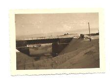 Altes Foto Bild Deutsches Reich 2. Weltkrieg Brücke bewacht durch 1.H.14 [426]