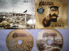 2 CD LIMITED EDITION DIGIPAK Call to Arms-Saxon