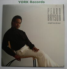 PEABO BRYSON - Straight From The Heart - Excellent Con LP Record Elektra 60362-1
