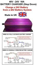 BATTERY CHARGER 48V to 24V STEP DOWN DC-DC 10AMP / 240W, 48V-24V Battery Charger