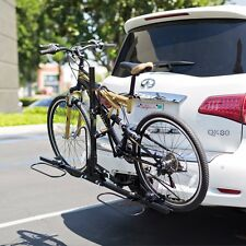 """2 Bike Rack Carrier 2"""" Hitch Receiver Double Platform Bicycle Rack Deluxe"""