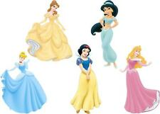 JOBLOT DISNEY PRINCESSES SMALL IRON ON T SHIRT TRANSFERS LIGHT/WHITE FABRICS