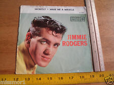 1958 Jimmie Rodgers Roulette Records 4070 45 RPM Picture Sleeve ONLY!