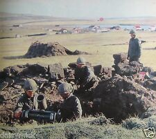 Argentina Army Soldiers Trench Argentine 1982 Falklands 5x5 Inch Reprint Photo