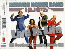 HERMES HOUSE BAND & DJ ÖTZI : LIVE IS LIFE / 6 TRACK-CD - TOP-ZUSTAND
