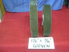 """WOVEN BRAKE LINING 1-1/2"""" WIDE X 3/16"""" THICK ~ SOLD BY THE FOOT- $24.99 PER FOOT"""