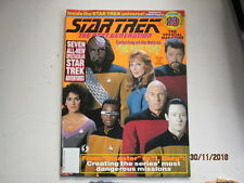 STAR TREK-  THE NEXT GENERATION  OFFICIAL  MAGAZINE SERIES BY STARLOG VOL 23