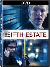 THE FIFTH ESTATE DVD SEALED - BENEDICT CUMBERBATCH - AUTHENTIC US RELEASE