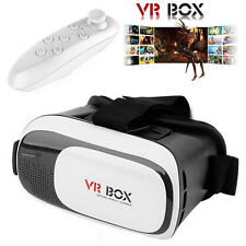 VR BOX 2.0 Virtual Reality VR Headset Goggles Games 3D Glasses with Controller