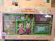Calico Critters Sylvanian Families Childrens Room Margot Otto Retired 2005 #2501