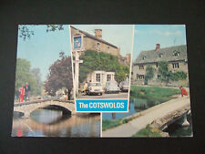 Postcard. The Cotswolds. Multi-view. Posted to High Wycombe