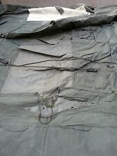 British Army Military Tent Roof & Wall Section GS Shelter 12FTx12FT 8340 Camping
