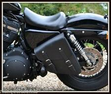 Sacoche latérale en Cuir - pour Harley Sportster , Iron , Forty Eight, nightster